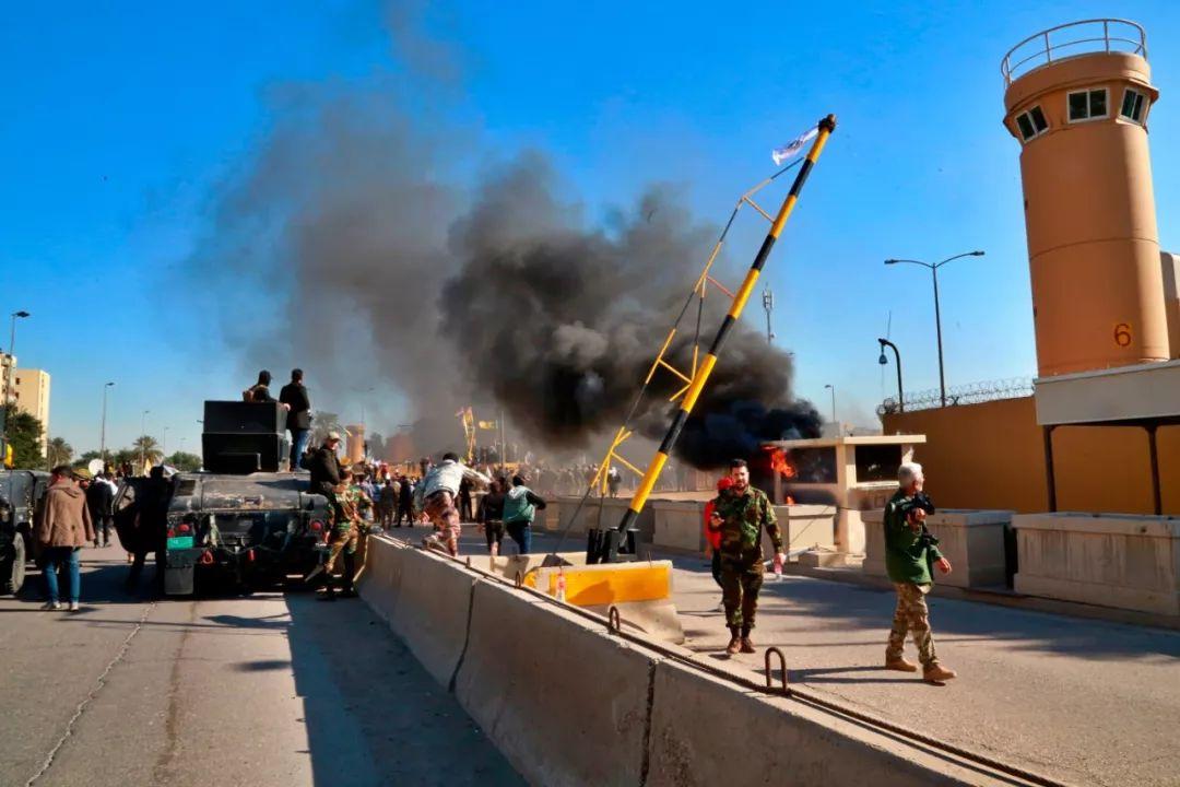 美国使馆新年遭冲击 中东又要打仗了吗?