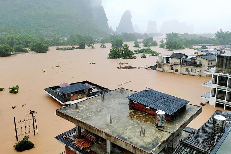 水淹陽朔:一個旅游大縣的艱難復蘇