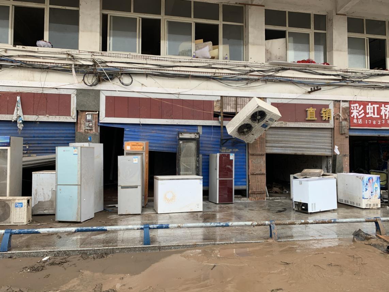 """洪水再袭重庆:""""洪水来了两次了,还有三次"""""""