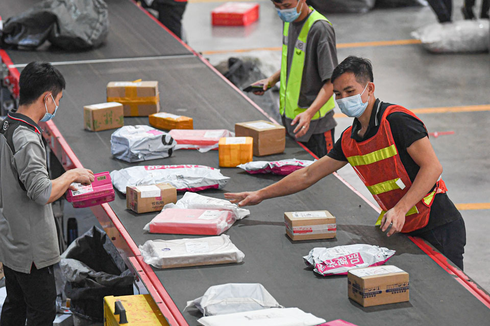 快遞企業誰更綠?環保機構:京東順豐蘇寧前三,韻達圓通百世墊底