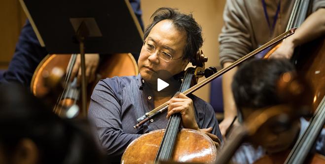 """专访马友友:""""我一直问自己, 音乐到底有什么用?""""(含视频)"""
