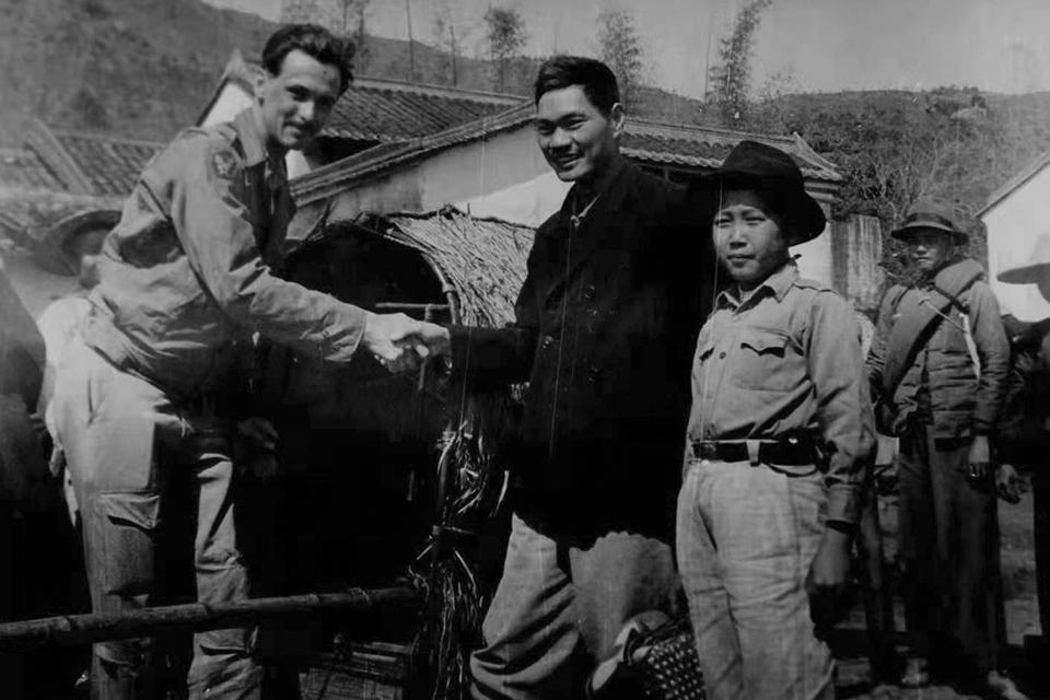 逃向中国:寻找东江纵队营救盟军旧地
