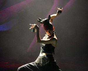杨丽萍新创舞蹈《云南的响声》在昆明首演