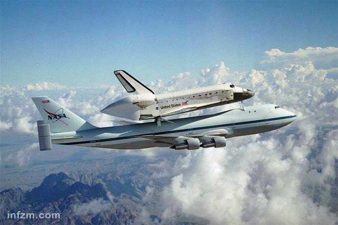 由于搭载航天飞机大幅增加了重量和阻力