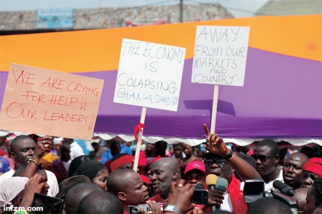 """21加纳大选中的""""中国问题"""""""