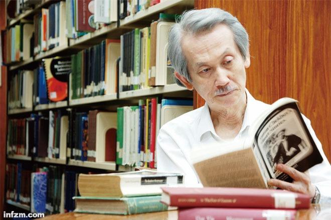 台湾作家王文兴不慌不忙的50年