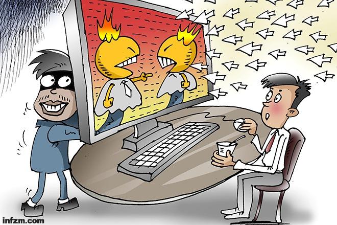 """为何互联网上信息真假难辨?有官员把原因归结于""""某些国外信息的干扰""""。 (CFP/图)"""