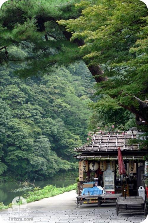 京都岚山风景区.