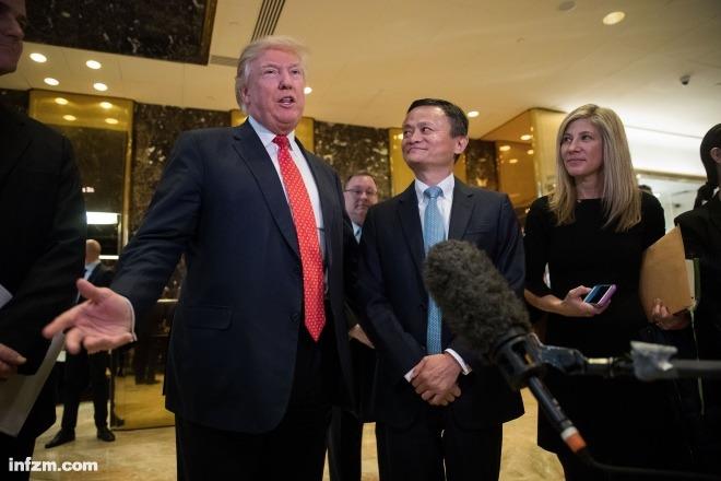 """马云/不走寻常路的特朗普 坏了多少美政坛""""老规矩""""..."""