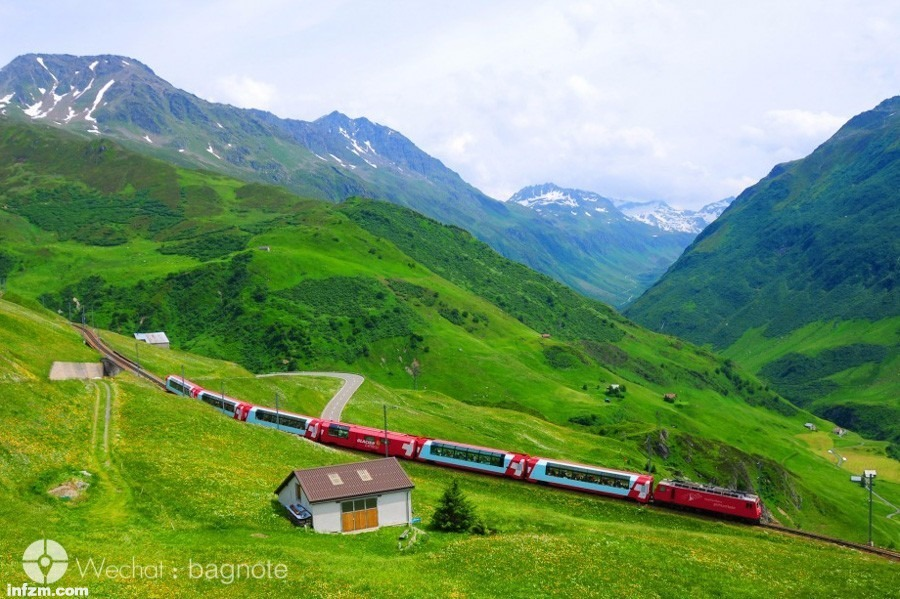 南方火车沿途风景图片