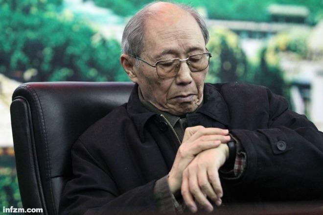 《我的三個老師》圖為著名教育家、武漢大學原校長、本文作者劉道玉。視覺中國