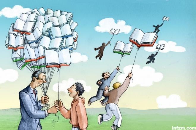 《我们欠教育一笔账》教育版开版语。视觉中国