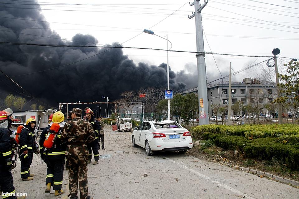 盐城化工厂爆炸致6人亡:应急管理部成立后书记首次赴事故现场
