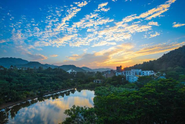 北师大珠海校园风光。