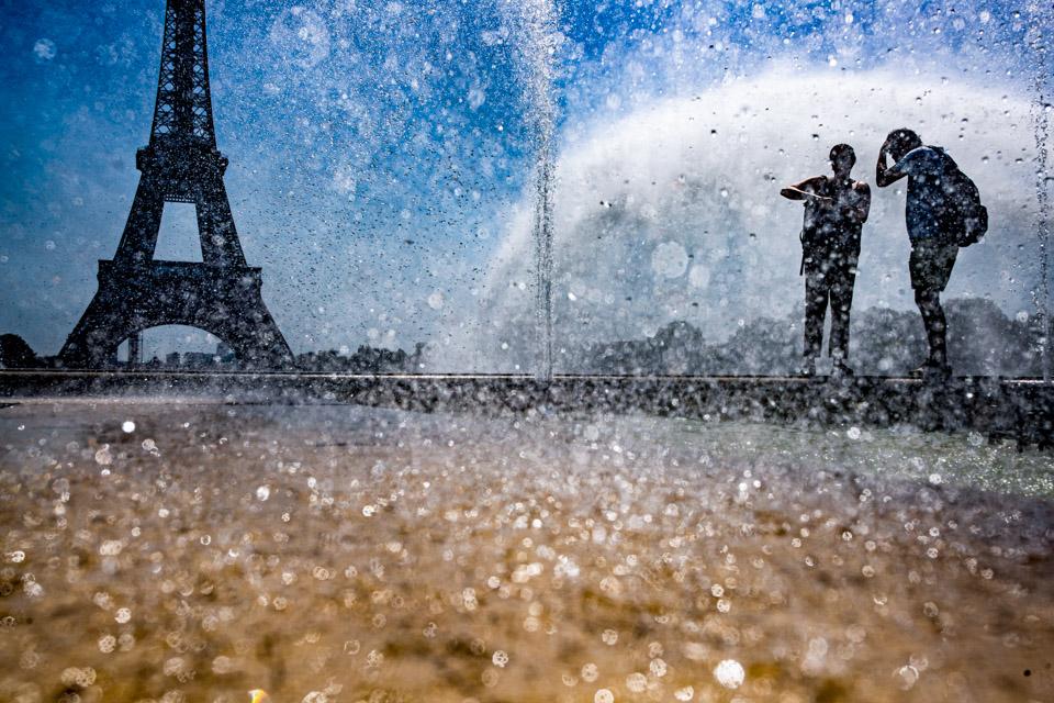 酷夏法国人这样降温2