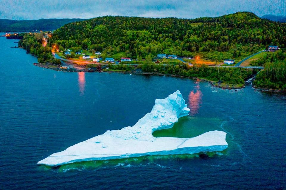 """眼睛在旅行丨""""做客""""加拿大的冰山3"""