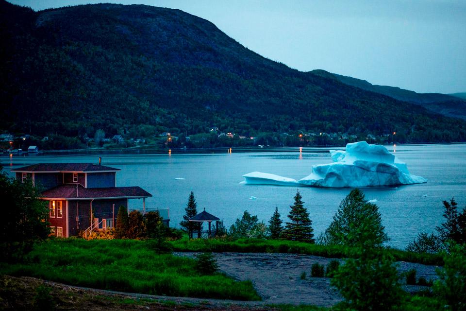 """眼睛在旅行丨""""做客""""加拿大的冰山1"""