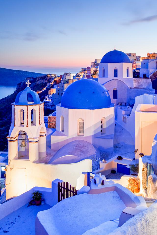 """眼睛在旅行丨地中海的""""蓝白小镇""""1"""