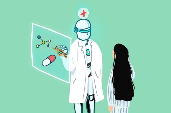《AI大潮,检验科医生或首当其冲》人工智能将挖掘大数据,根据最新的进展,结合患者的健康情况,综合判断出异常结果的意义,诊断或者治疗疾病,从而逐步替代检验科医生。