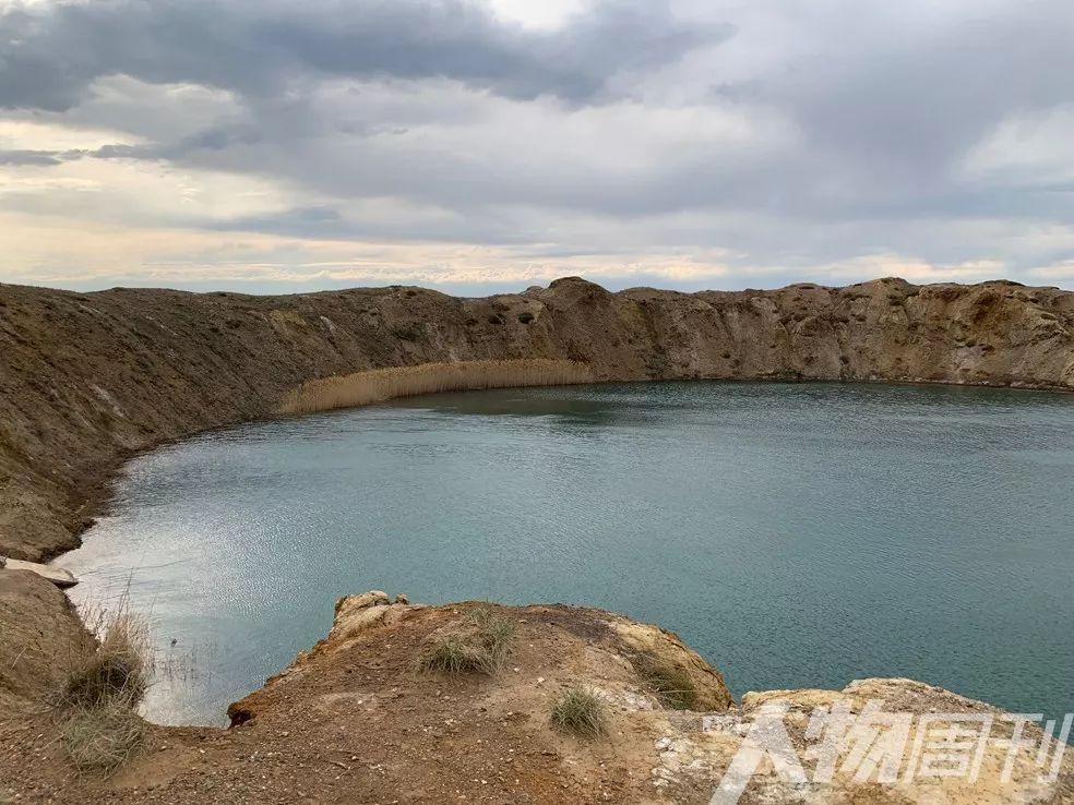 核爆后形成的湖