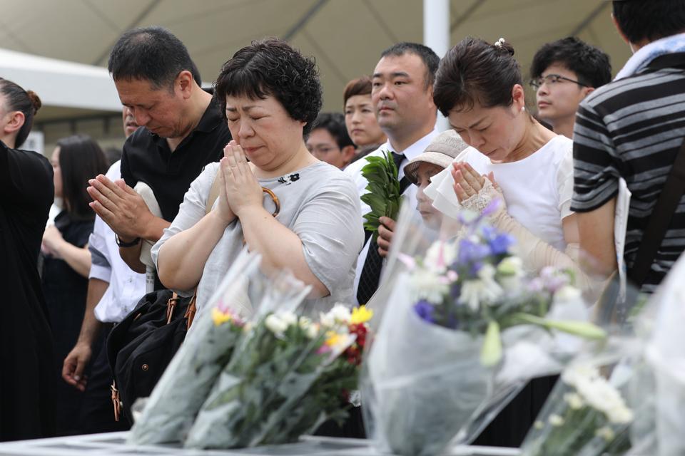 日本长崎纪念原子弹爆炸74周年3