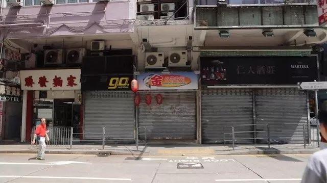8月16日,昔日熙熙攘攘的香港街头,如今游客寥寥可数。