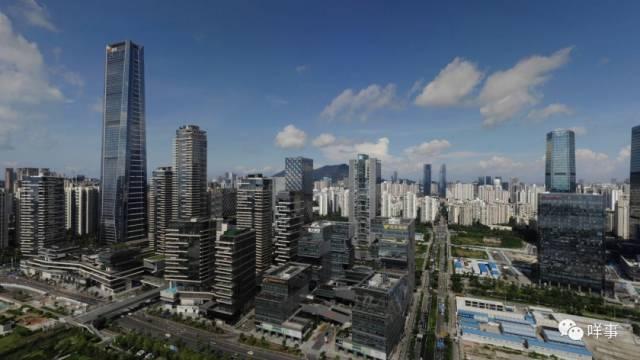 深圳南山片区,一大批高新科技企业在此扎根发展。南都记者 胡可 摄
