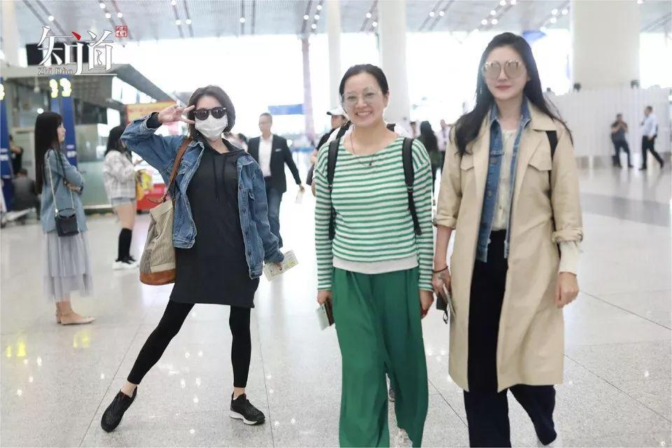 2019年5月8日,北京,小s、阿雅以及大s现身机场。(视觉中国/图)