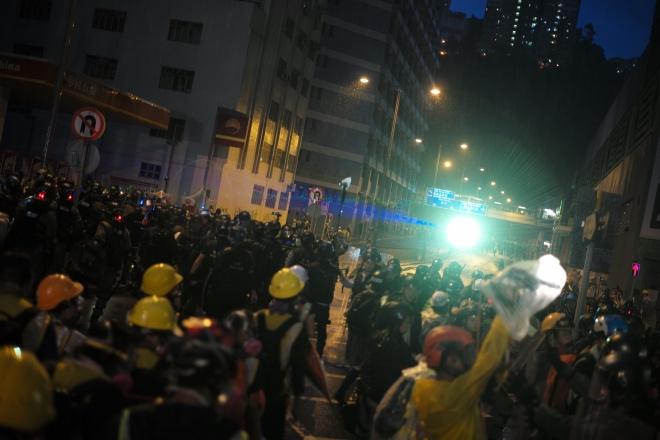 8·31前夕,多名香港示威者被捕