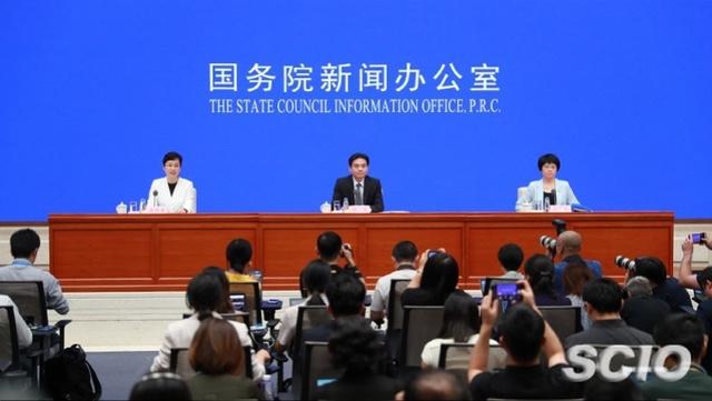 国务院港澳事务办公室新闻发言人杨光、徐露颖介绍对香港当前局势的看法,并答记者问。来源:国新网
