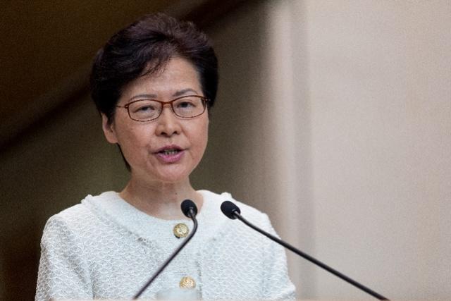 林郑月娥公开发言连用四个感谢,呼吁让香港社会尽快恢复秩序