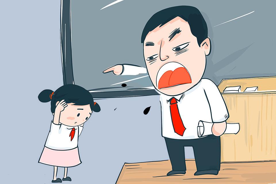 老师逼学生吃垃圾,这种侮辱与伤害必须承担责任