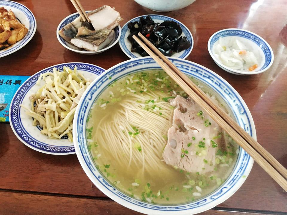 苏式汤面,一座城市的记忆
