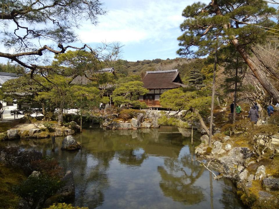 银沙向月  ——京都银阁寺漫步