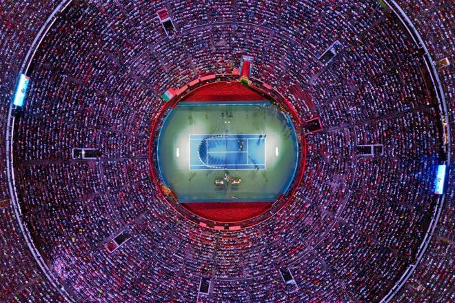 每日壹图:墨西哥|刷新最高观众人数的网球比赛
