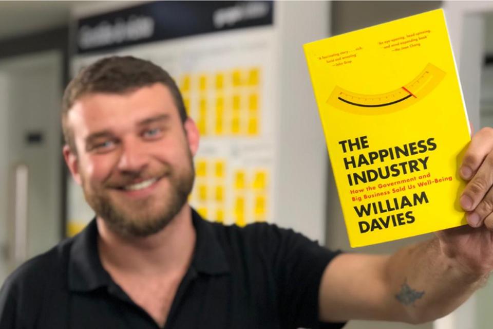 幸福已成一盤賺大錢的生意