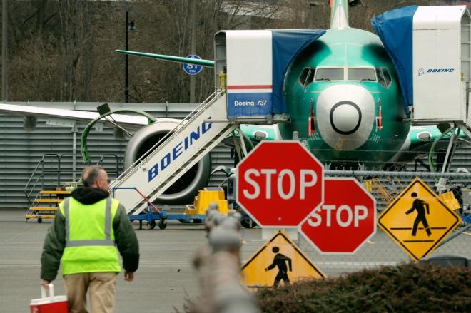 每日壹圖:美國 波音將暫停生產737MAX系列飛機