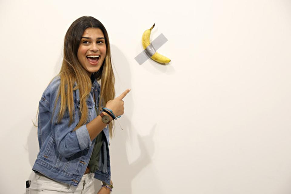 """""""貼在墻上的香蕉""""是藝術,還是騙局?"""