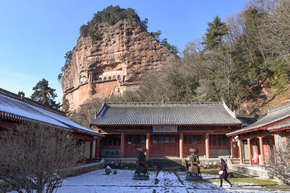 麦积山石窟:东方雕塑艺术陈列馆