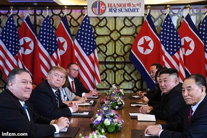 """""""我们的领导人对美方的'算计'感到困惑"""" ——朝鲜3月1日凌晨举办发布会回怼美国"""