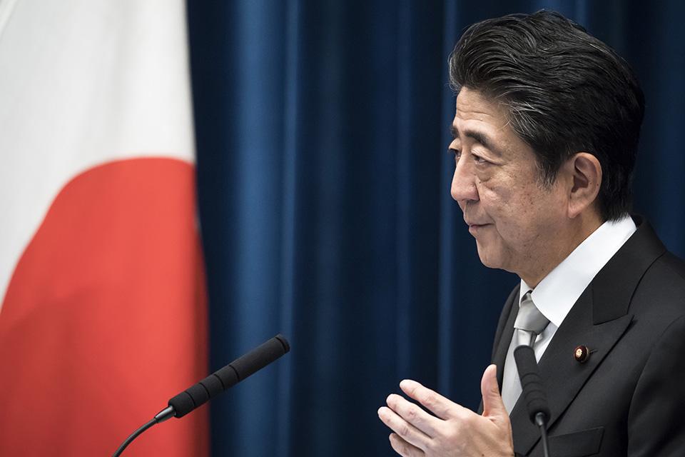 在位最久的日本首相辞职