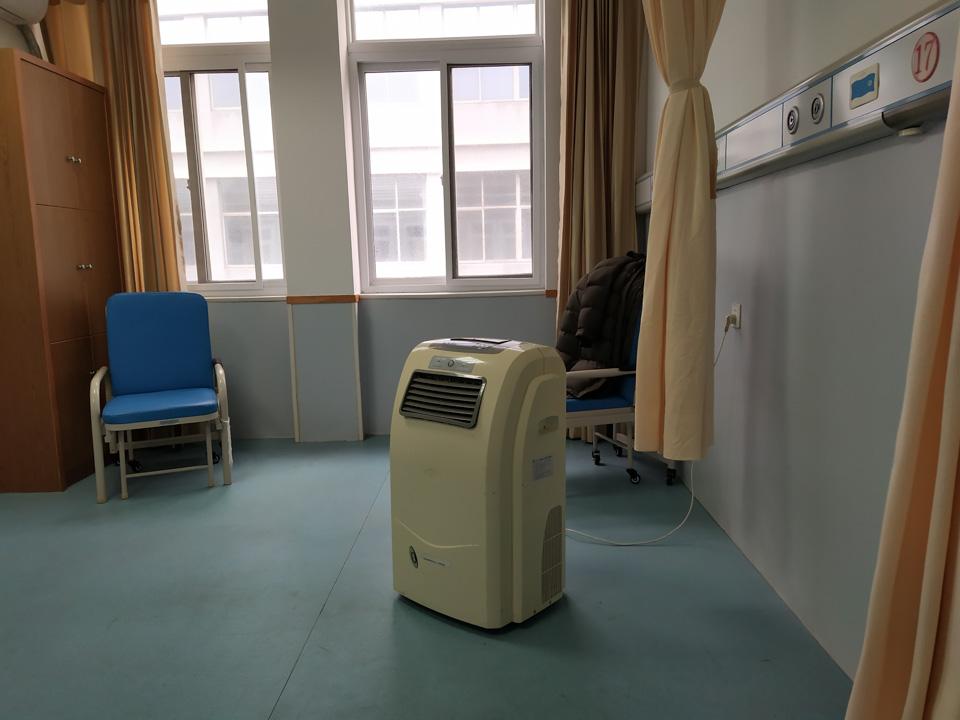 从武汉返回后的第20天,我在隔离病房独自过年