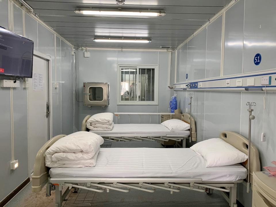 探访雷神山医院:严防交叉感染,将迎首批患者