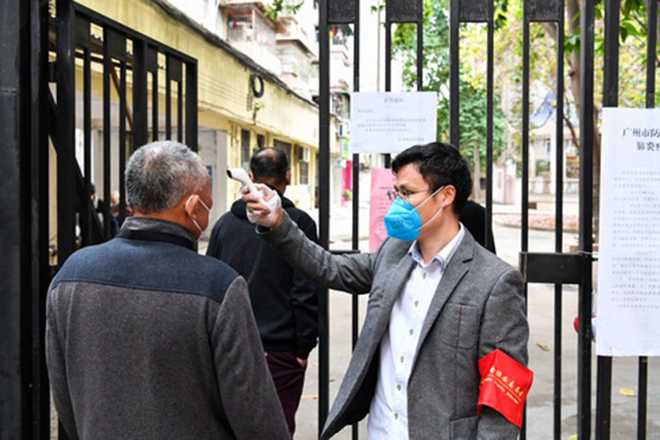 我在广州:新冠时期的邻里之情,保持距离、不减温度