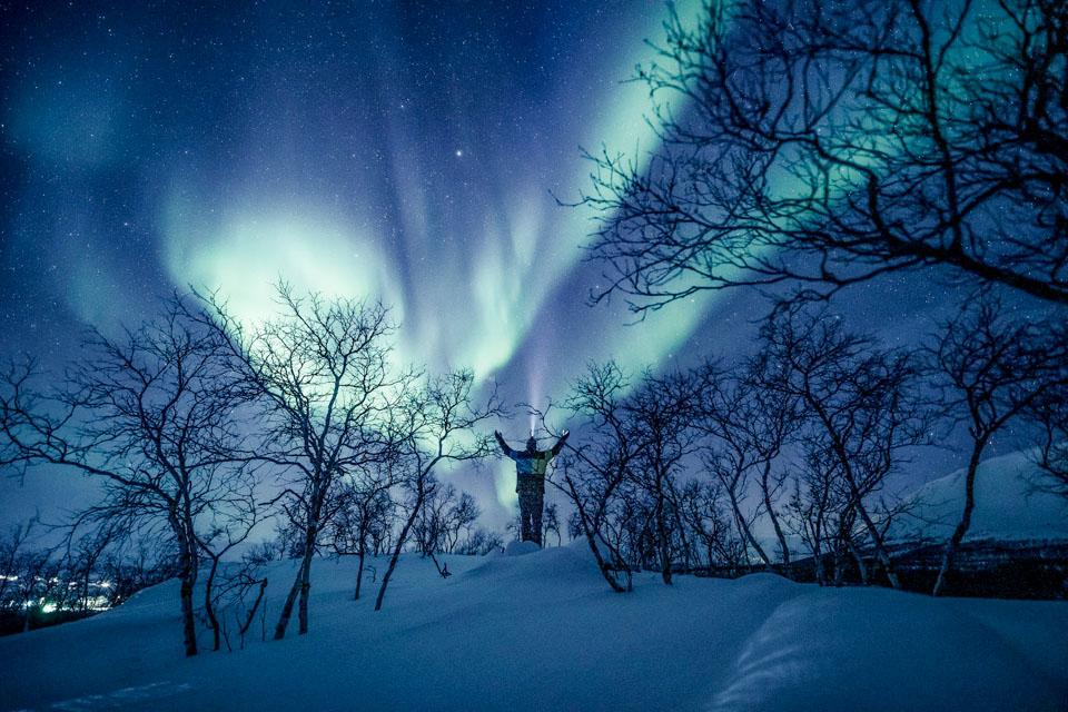 芬兰:2020的北极光