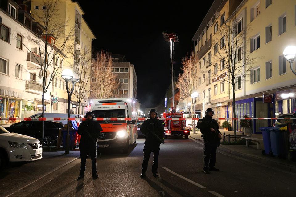 德國哈瑙市突發槍擊事件