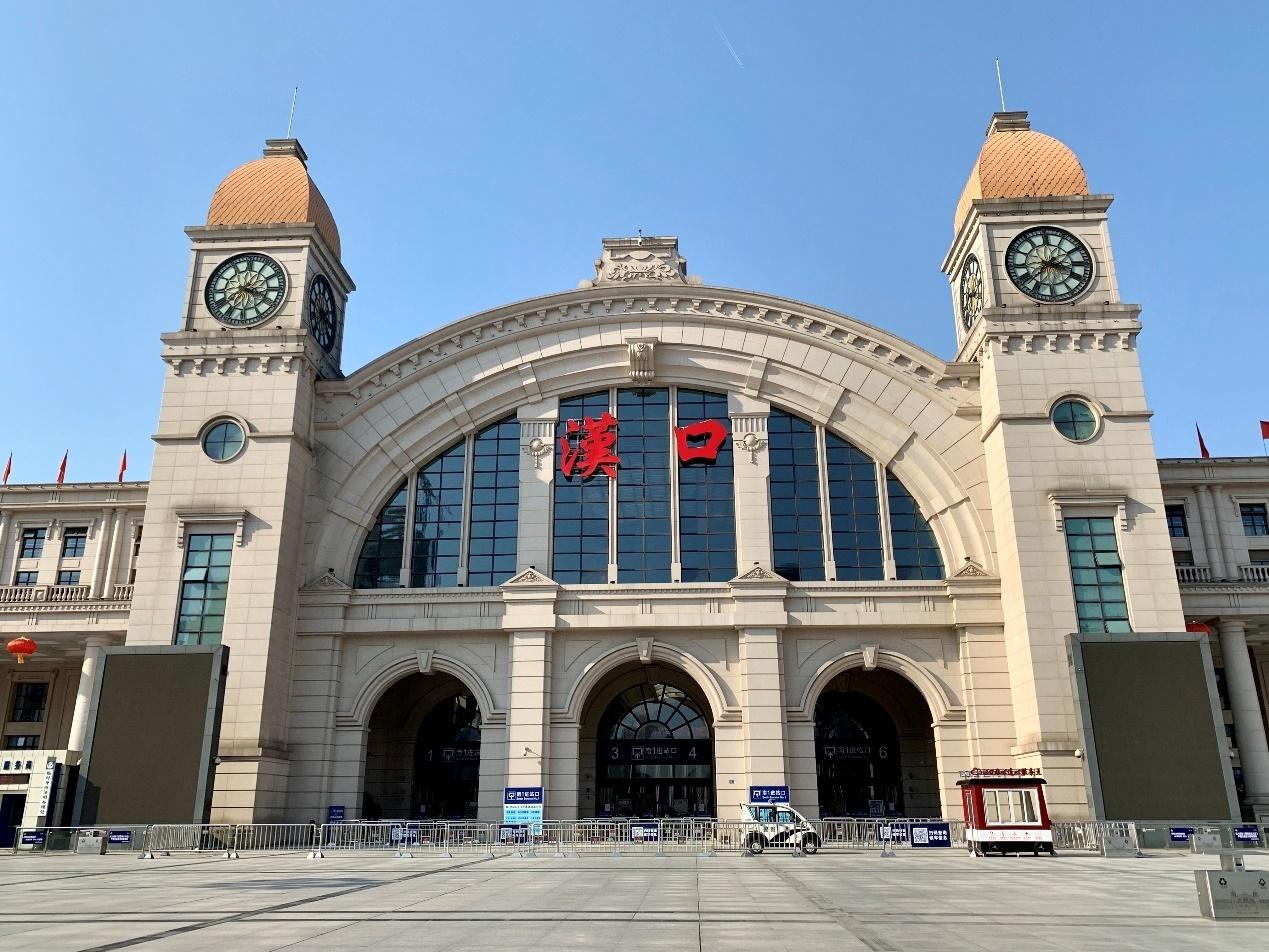 汉口火车站:春运大潮戛然而止