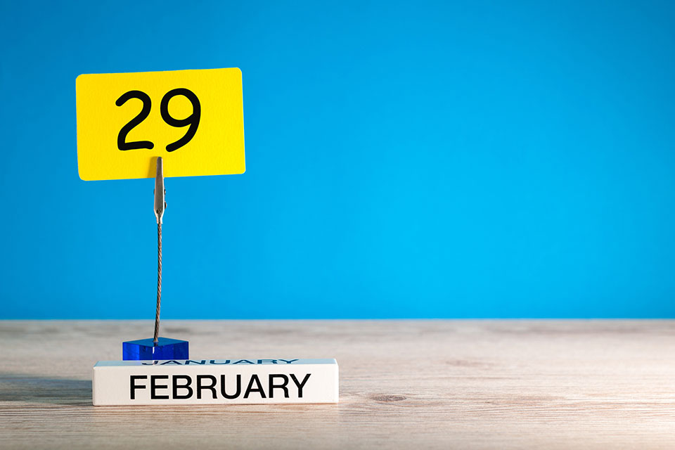 也说闰月2月29【语词究竟】