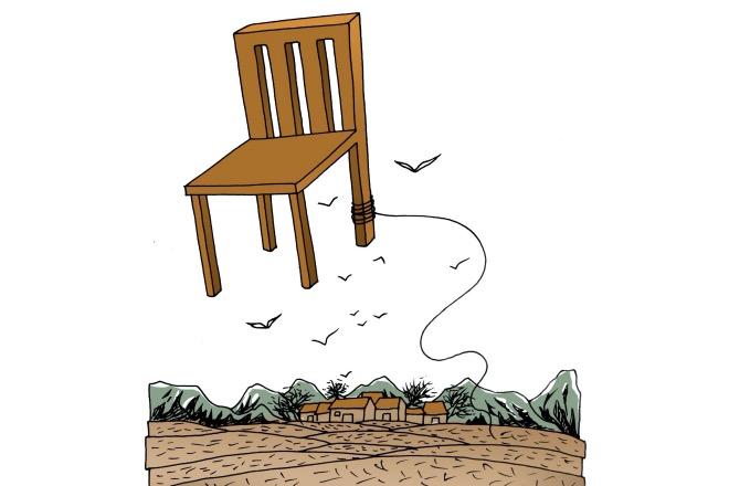 《椅子》(圖文無關)聽說椅子這事還僵著。