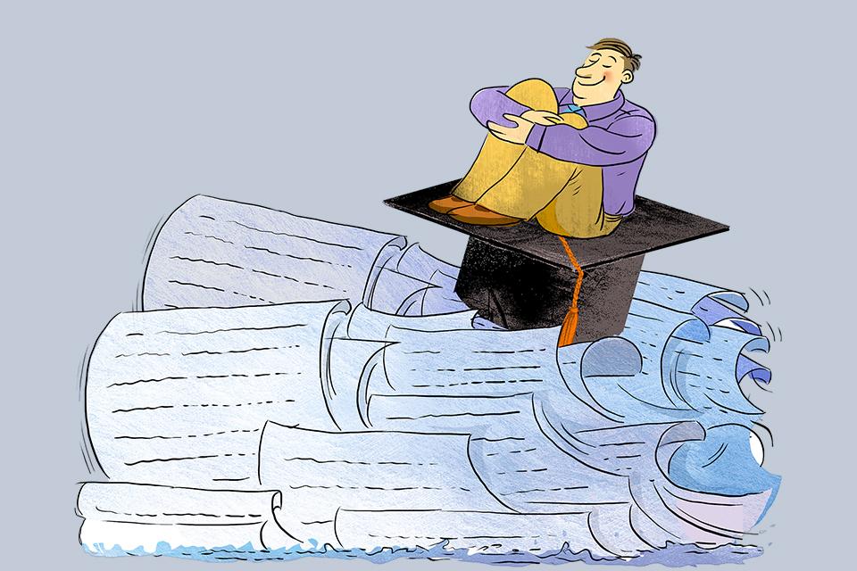 研究生學位論文注水,板子不能只打在學生和老師身上